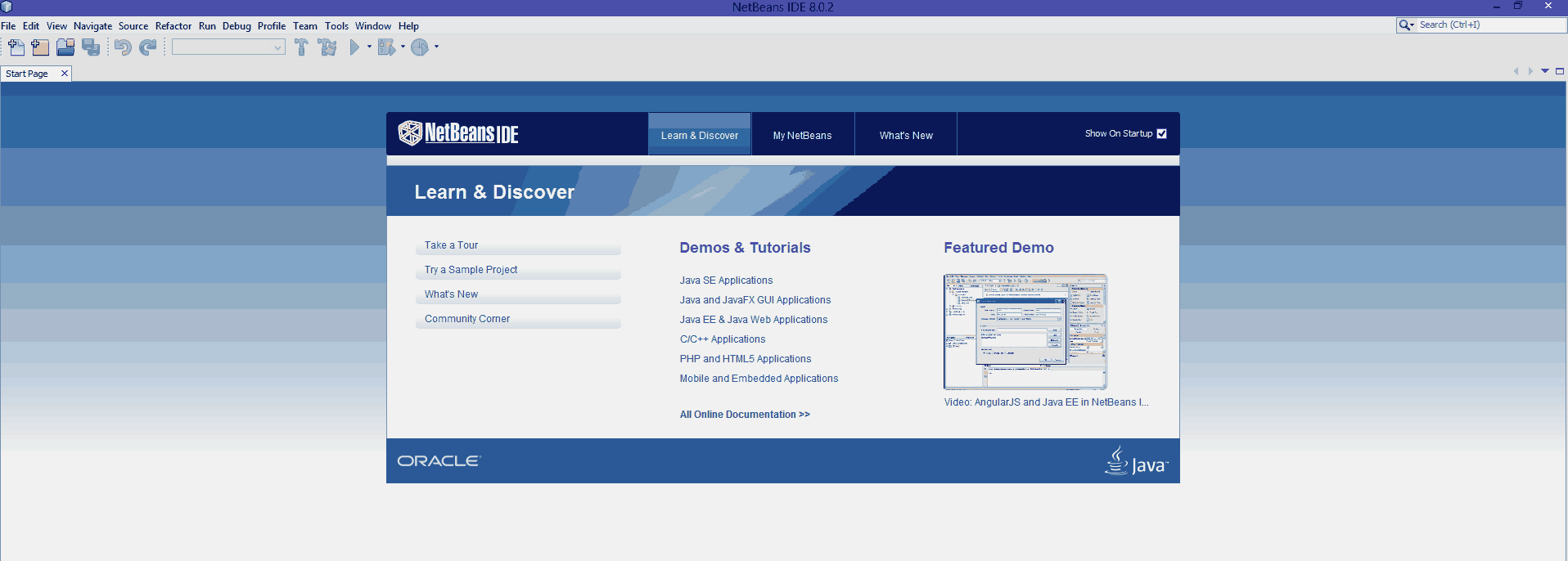 Pantalla de Instalación de NetBeans.