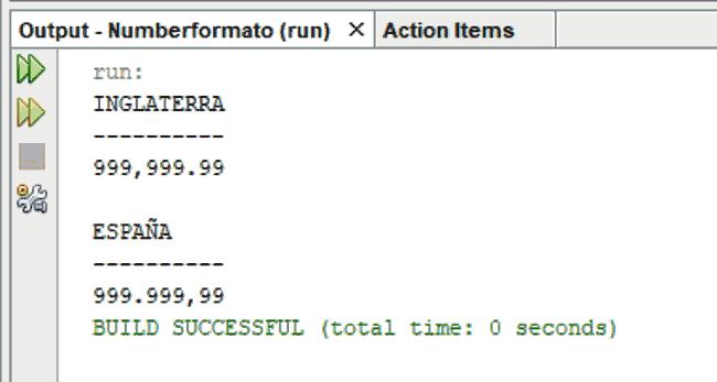 Curso de Java. Salida en consola. Clase NumberFormat
