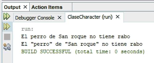 Curso de Java. Ejemplo de uso de secuencias de escape en java