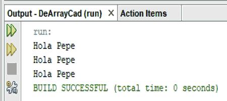 Curso de Java. Convertir un array en una cadena